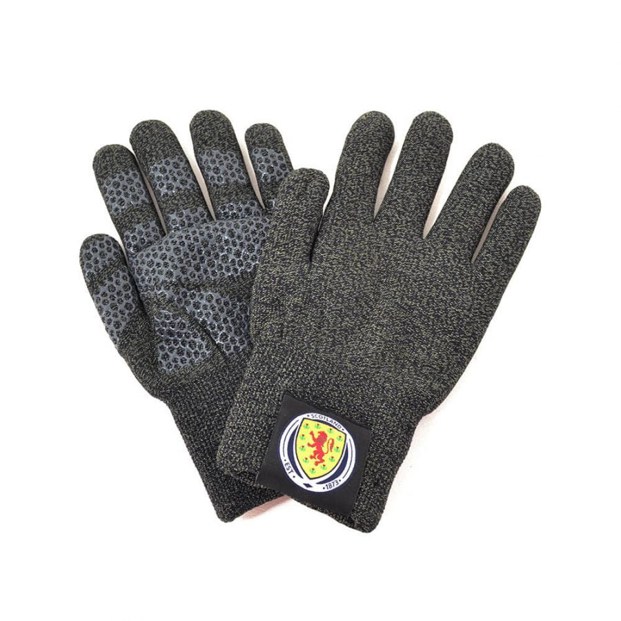 SCOTLAND FA TOUCHSCREEN KNITTED GLOVES