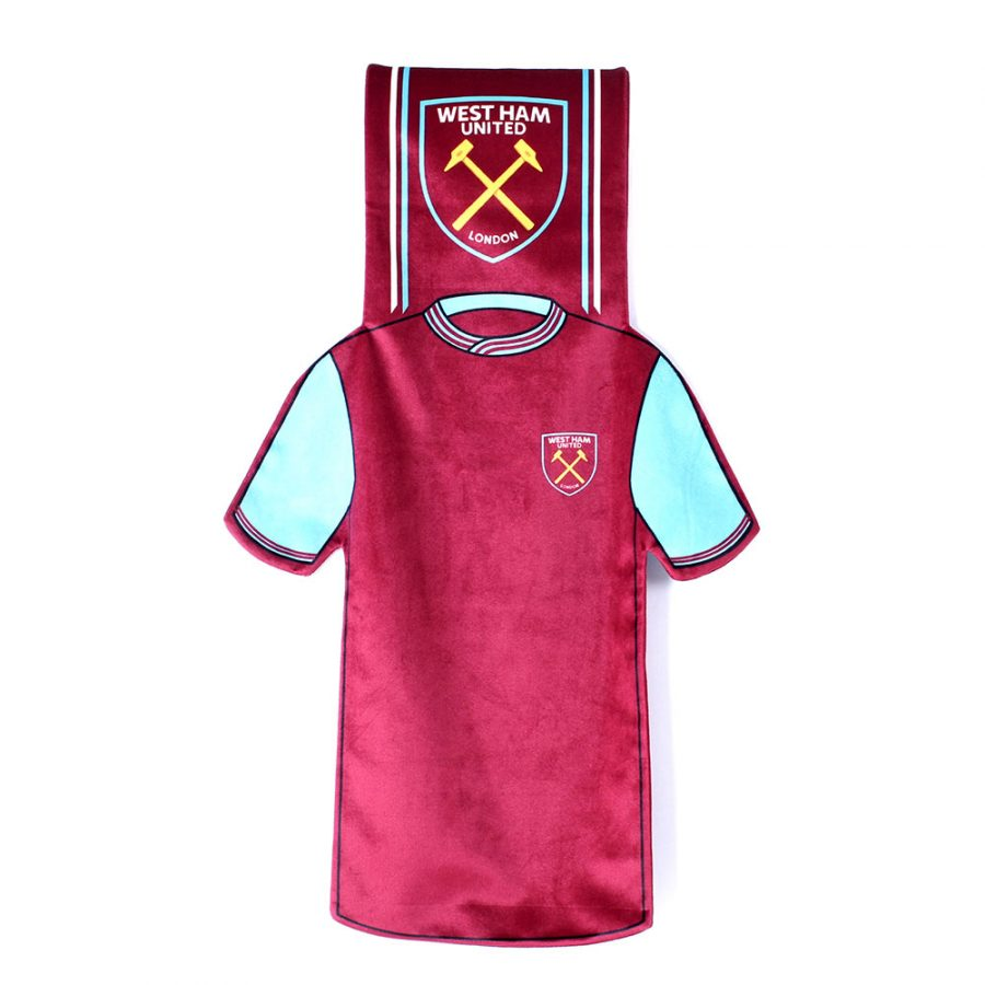 WEST HAM UTD SHIRT SCARF