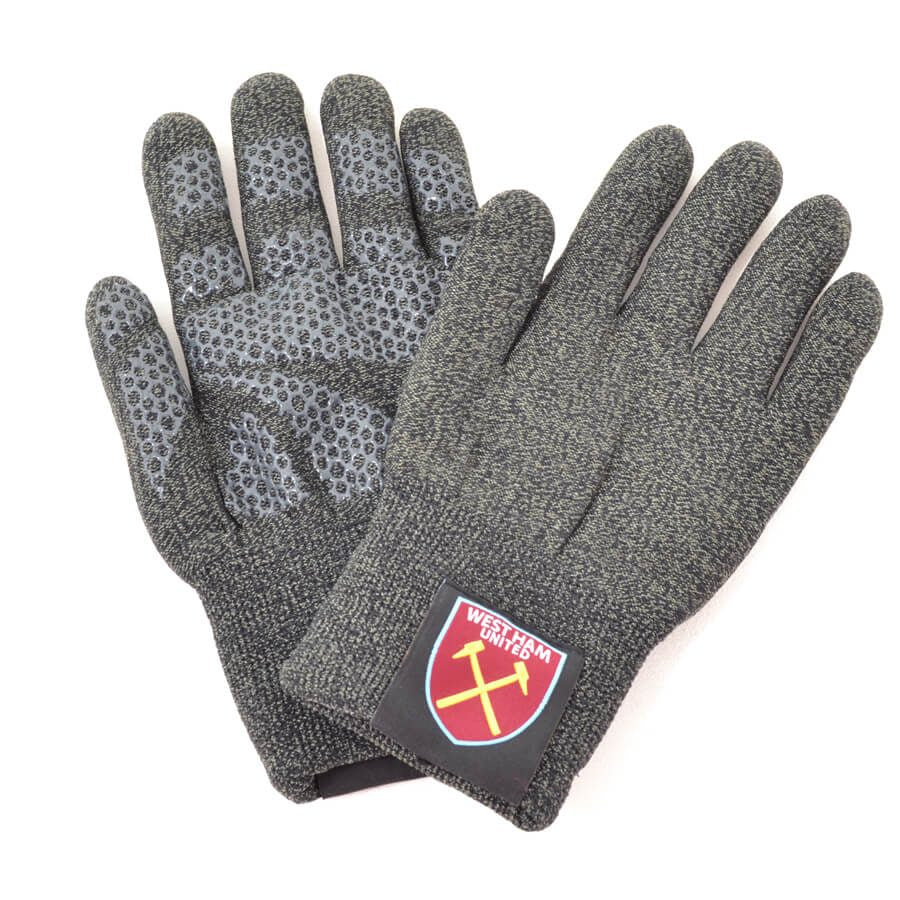WEST HAM UTD TOUCHSCREEN KNITTED GLOVES