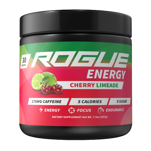 Rogue Energy - Cherry lemonade-Rogue Energy tub-E-fuel.dk