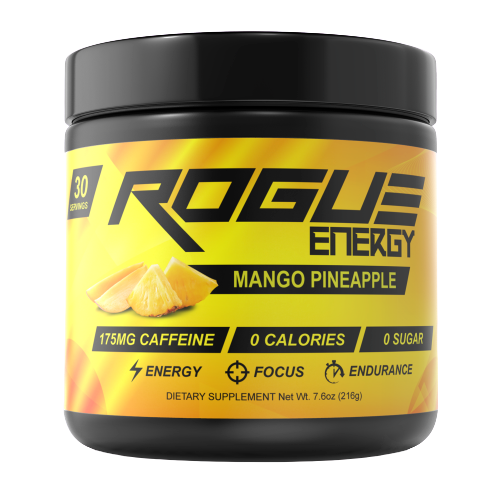 Rogue Energy - Mango pineapple-Rogue Energy tub-E-fuel.dk