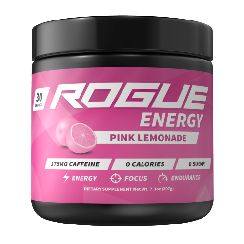 Rogue Energy - Pink lemonade-Rogue Energy tub-E-fuel.dk