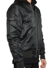 Load image into Gallery viewer, BOMBER JACKET (BLACK)