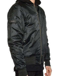 BOMBER JACKET (BLACK)