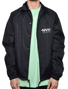 NAJS COACH JACKET (BLACK)
