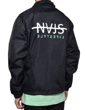 Load image into Gallery viewer, NAJS COACH JACKET (BLACK)