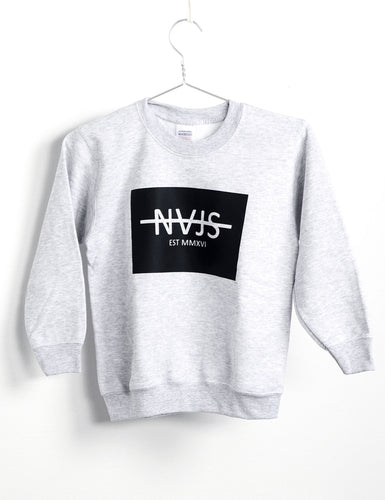 BOX SWEATSHIRT KIDS (GREY)