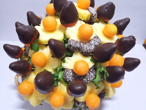 CHOCO BERRY DIPPED DAISIES - FruitDay