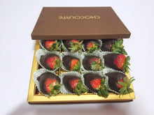 Load image into Gallery viewer, CHOCOLATE DIPPED STRAWBERRIES - FruitDay