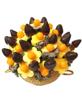 CHOCO BERRY DIPPED DAISIES