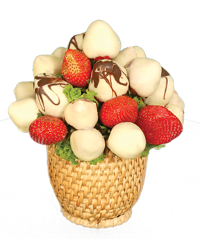 CHOCOBERRY BOUQUET - White - FruitDay