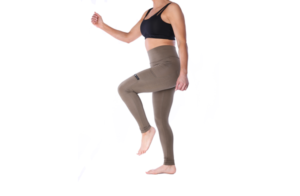 Bamboo Pocket Leggings - Juniper - Ethica Activewear