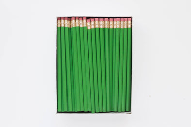 Custom Green Pencils