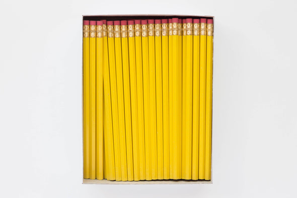 Custom Yellow Pencils