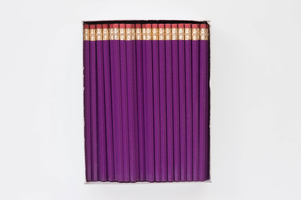 Custom Plum Pencils