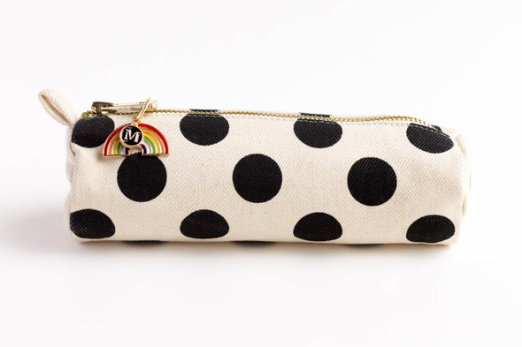 Rainbow Charm Initial Pencil Case
