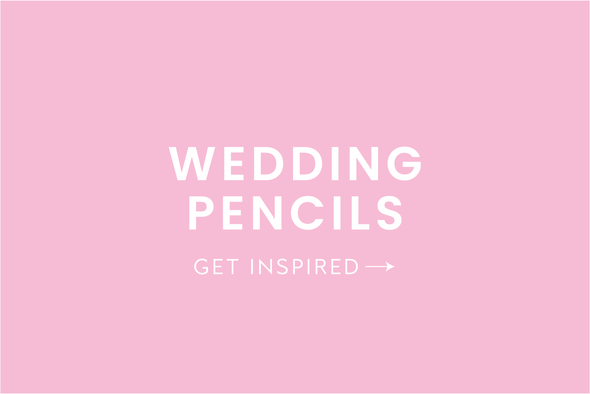 Wedding Pencils