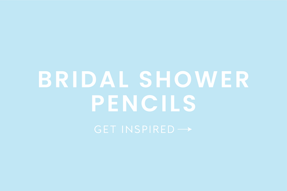 Bridal Shower Pencils