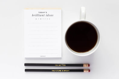 Brilliant Ideas Notepad