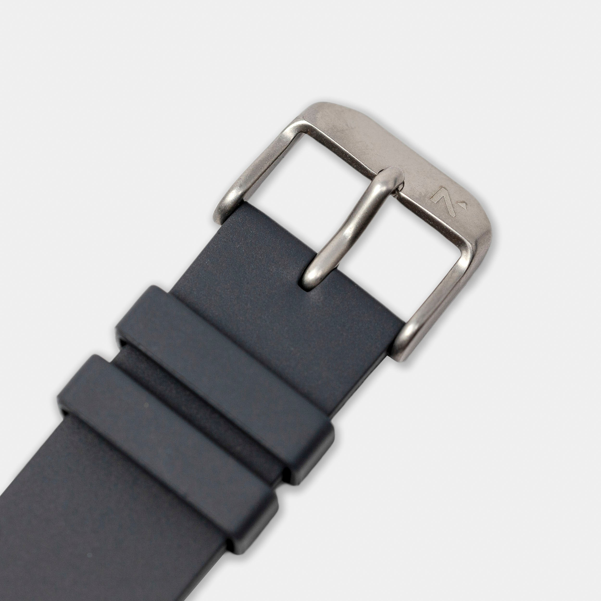 Natural Rubber Watch Strap (20mm) | Storm Grey