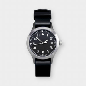 'Terrain' Cat.1 Field Watch (38mm) | Pitch Black