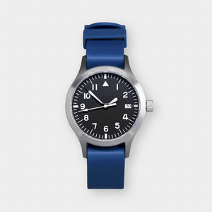 'Terrain' Cat.1 Field Watch (38mm) | Blue Stack
