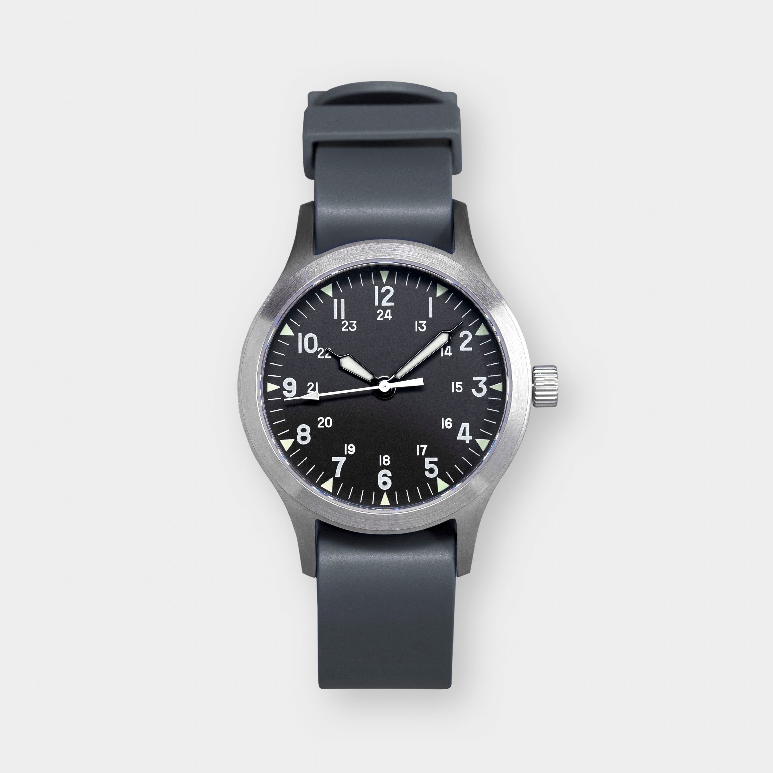 'Terrain' Cat.2 Field Watch (38mm) | Storm Grey