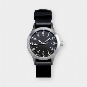 'Terrain' Cat.2 Field Watch (38mm) | Pitch Black