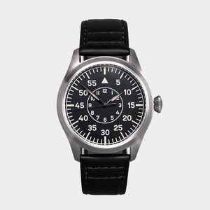 'Turbulence' Cat.2 Aviator's Watch (46mm) | Rook Black