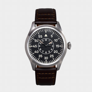 'Turbulence' Cat.2 Aviator's Watch (46mm) | Pullman Brown