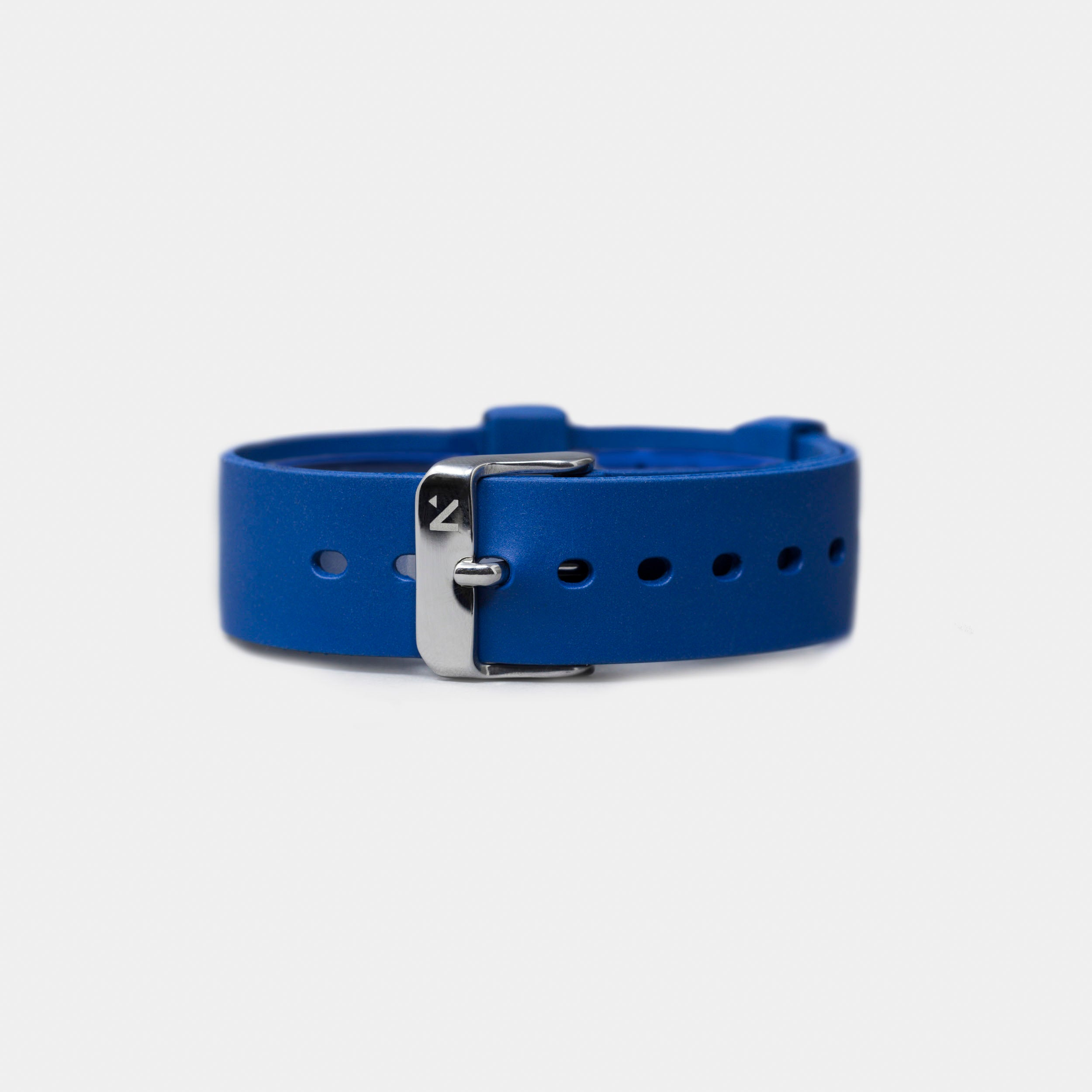 Natural Rubber Watch Strap (18mm) | Royal Blue