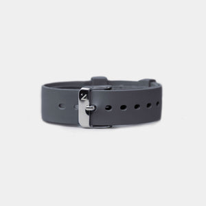 Natural Rubber Watch Strap (18mm) | Storm Grey