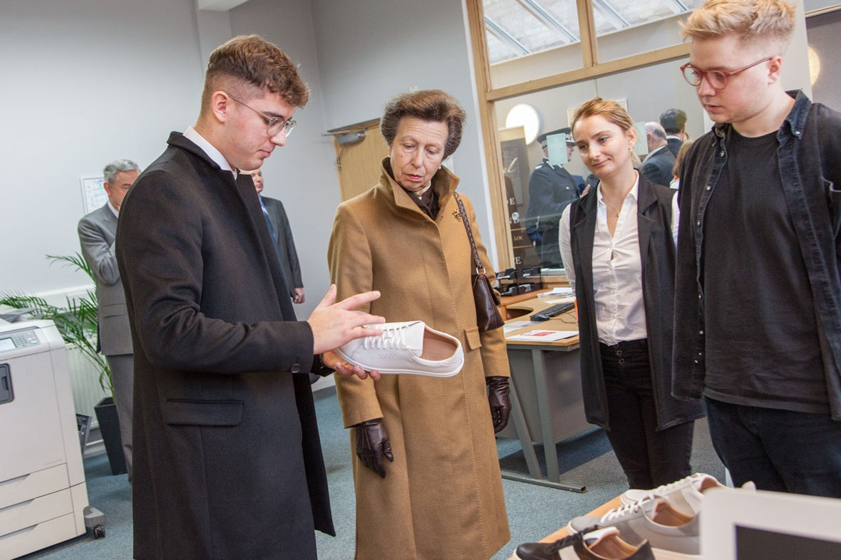 Goral | Sheffield factory Royal Family Visit