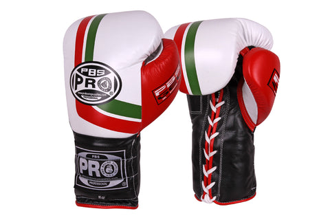 Pro Series Gel Lace Gloves - 14 OZ Mex