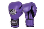 Pro Boxing® Series Gel Velcro Gloves - Purple