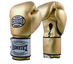 Casanova Boxing® Hybrid Boxing Gloves w/ Hook & Loop - Metallic Gold