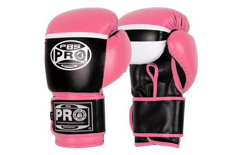 Pro Boxing® Series Deluxe Starter Boxing Gloves - Pink