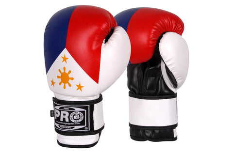 Pro Boxing® Series Deluxe Starter Boxing Gloves - Filipino Flag