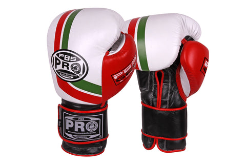 Pro Series Gel Velcro Gloves - 12 OZ Mexican