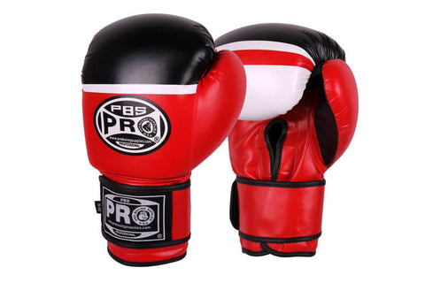 Pro Boxing® Series Deluxe Starter Boxing Gloves - Red/Black