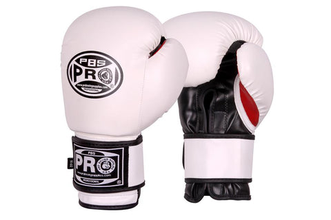 Pro Boxing® Series Deluxe Starter Boxing Gloves - White