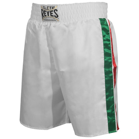 Cleto Reyes Satin Classic Boxing Trunks - Mexico