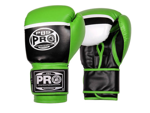 Pro Boxing® Series Deluxe Starter Boxing Gloves - Green