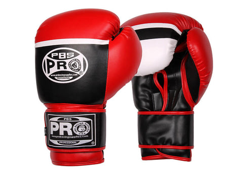 Pro Boxing® Series Deluxe Starter Boxing Gloves - Black/Red