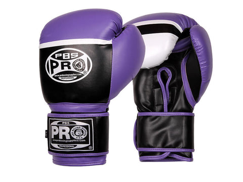 Pro Boxing® Series Deluxe Starter Boxing Gloves - Purple