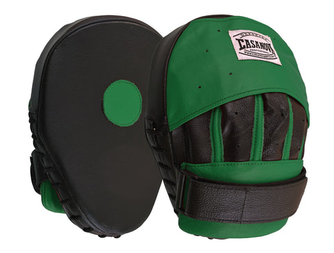 Casanova Boxing® Professional Focus Curve Mitt - Green/Black