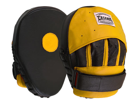 Casanova Boxing® Professional Focus Curve Mitt - Yellow/Black