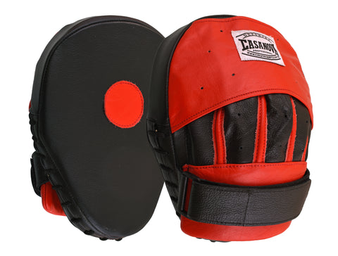 Casanova Boxing® Professional Focus Curve Mitt - Red/Black