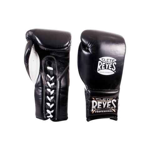 Cleto Reyes Traditional Lace Gloves - Black