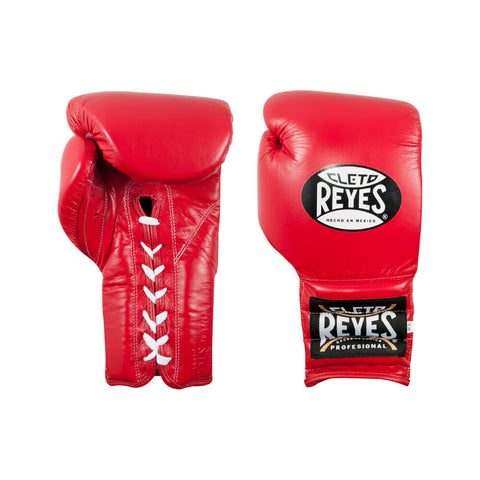 Cleto Reyes Traditional Lace Gloves - Red